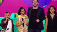 "Replay ""The Voice Kids"" : Patrick Fiori, Phoebe, Swany, Jane chantent « C'est dit » (vidéo)"