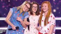 """Replay """"The Voice Kids"""" : battle Agathe, Noémie, Juliette « Chanson pour une drôle de vie » (vidéo)"""