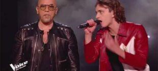 "Replay ""The Voice"" : Xam Hurricane & Pascal Obispo chantent « La bombe humaine » en finale (vidéo)"