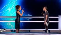 """Replay """"The Voice"""" : La Battle Anne Sila / Pompom Pidou sur « Prendre Racine » de Calogero (vidéo)"""
