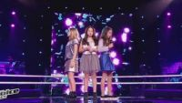 "Replay ""The Voice Kids"" : battle Lyn / Célia / Leelou  sur « One last time » d'Ariana Grande (vidéo)"