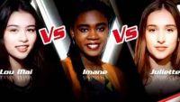 """Replay """"The Voice"""" : l'épreuve ultime de Lou-Mai, Imane et Juliette (vidéo)"""