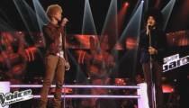 """Replay """"The Voice"""" : la battle Gwendal / Kissamilé sur « Fan » de Pascal Obispo (vidéo)"""