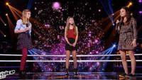 """Replay """"The Voice Kids"""" : battle Lynn, Romane, Josiane « Où Je vais » d'Amel Bent (vidéo)"""