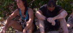"""Replay """"Koh-Lanta"""" : Martin et Sandra remportent un collier d'immunité sur le 1er jeu (vidéo)"""