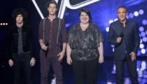 """Replay """"The Voice"""" : l'épreuve ultime de Côme, Mathilde et Max Blues Bird (vidéo)"""
