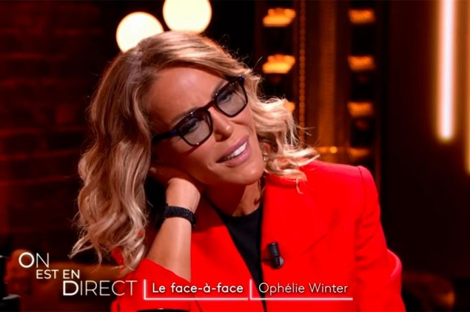 """""""On est en direct"""" : Ophélie Winter en face à face avec Laurent Ruquier (vidéo)"""