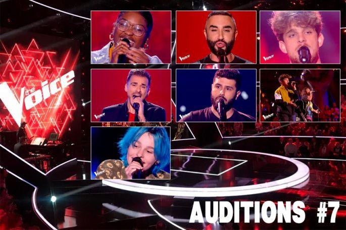 """Replay """"The Voice"""" samedi 29 février : voici les 7 derniers talents sélectionnés par les coachs (vidéo)"""
