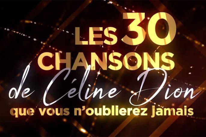 """""""Les 30 chansons de Céline Dion que nous n'oublierez jamais"""" mardi 9 novembre sur TMC"""