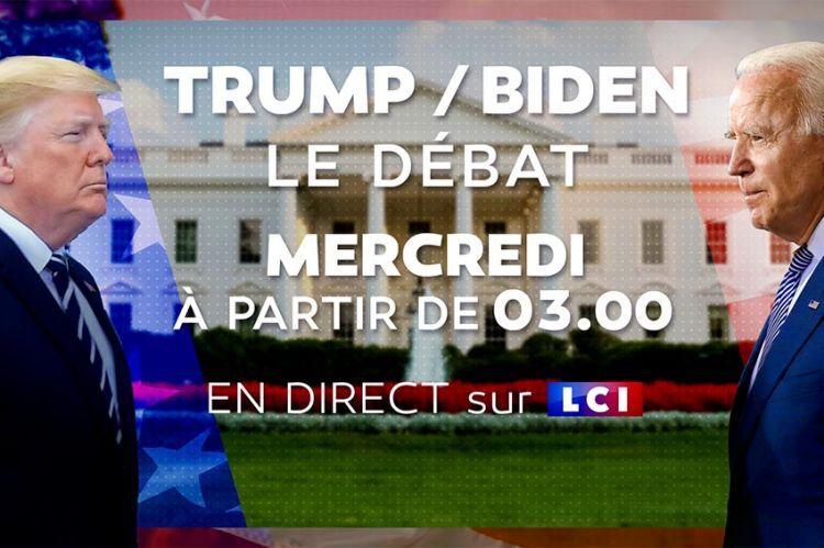 Présidentielle américaine : le débat entre Donald Trump et Joe Biden sera diffusé en direct sur LCI