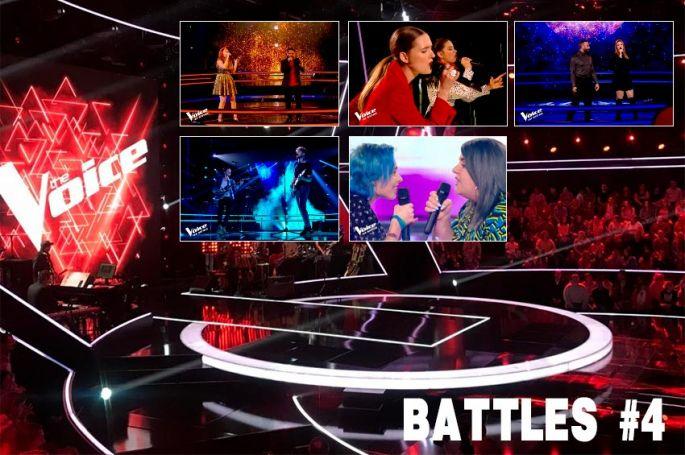 """Replay """"The Voice"""" samedi 28 mars : les 5 dernières Battles de la saison 9 (vidéo)"""