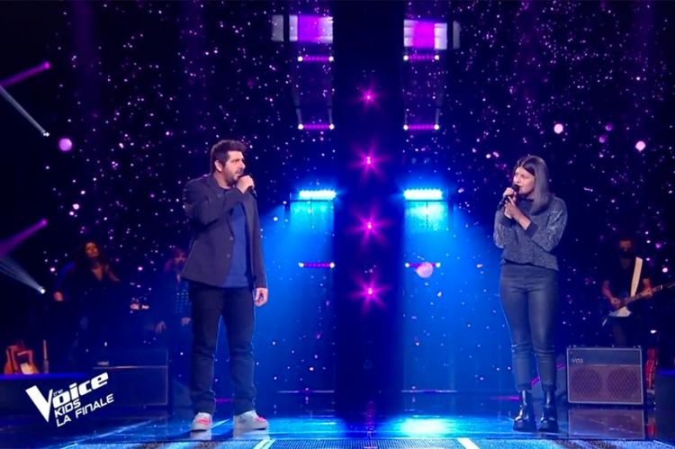 "Replay ""The Voice Kids"" : Ema & Patrick Fiori chantent « Fan » de Pascal Obispo (vidéo)"