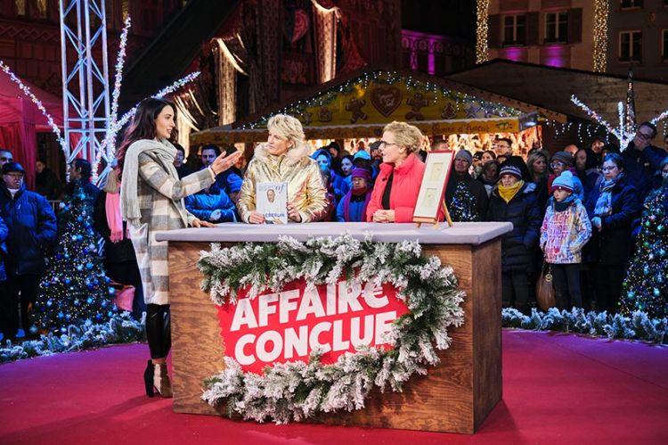 """""""Affaire conclue"""" : soirée spéciale au cœur du marché de Noël de Mulhouse, lundi 23 décembre sur France 2"""