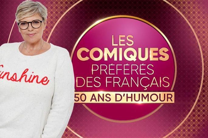 """""""Les comiques préférés des français"""" : Laurence Boccolini fête 50 ans de rire le 10 octobre sur France 2"""
