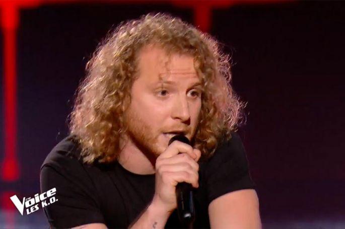 """The Voice"" : Silvio Ilardo chante « J'accuse » de Damien Saez (vidéo)"
