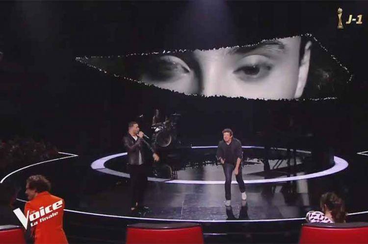 """Replay """"The Voice"""" : Pierre Danaë & Patrick Bruel chantent « Alors regarde » en finale (vidéo)"""