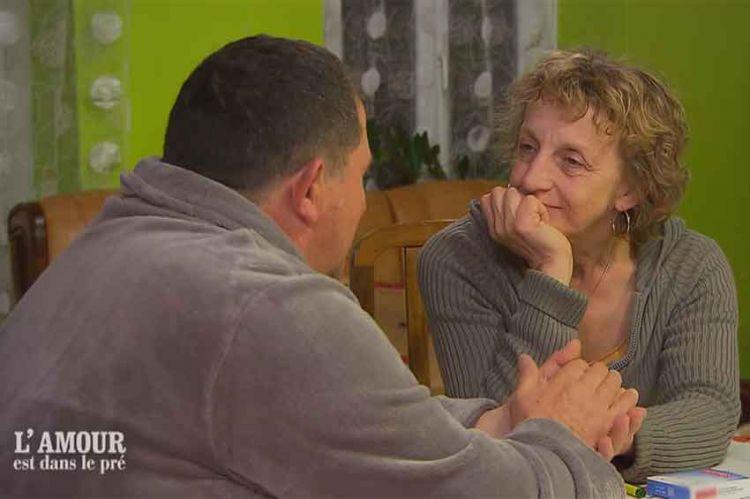 """""""L'amour est dans le pré"""" : premier baiser entre Yves et Lucienne (vidéo)"""