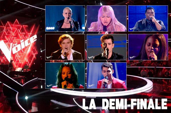 "Replay ""The Voice"" samedi 8 mai : voici les 12 prestations de la demi-finale (vidéo)"