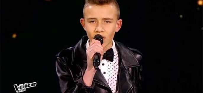 "Replay ""The Voice Kids"" : Diego chante « Wrecking Ball » de Miley Cyrus en demi-finale (vidéo)"