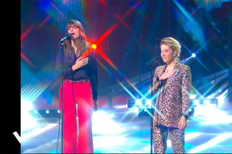 "Replay ""The Voice"" : Gustine & Clara Luciani chantent « La grenade » en finale (vidéo)"