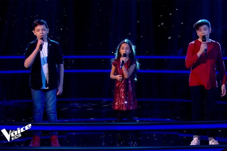 """""""The Voice Kids"""" : TF1 dévoile la Battle de Martin, Rébecca & Thomas sur « Utile » de Julien Clerc (vidéo)"""