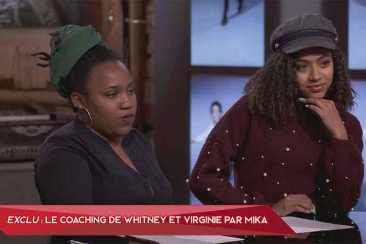 """""""The Voice"""" : découvrez le coaching de Whitney & Virginie avec Mika (vidéo)"""