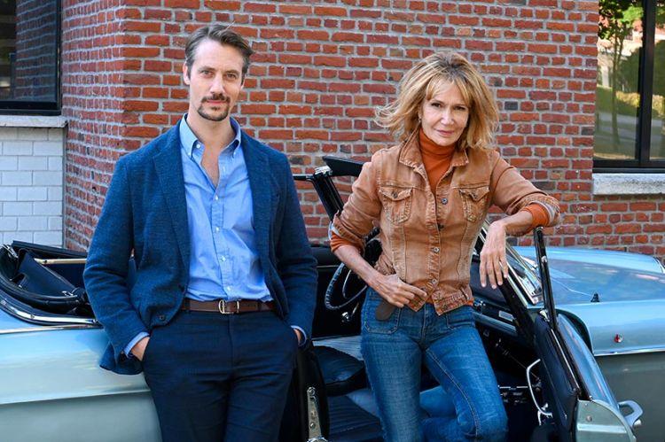 """Un 2ème épisode de """"Police de caractères"""" en tournage pour France 3 avec Clémentine Célarié et Joffrey Platel"""