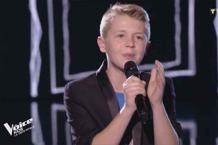 "Replay ""The Voice Kids"" : Kylian chante « Voler de nuit » de Calogero (vidéo)"