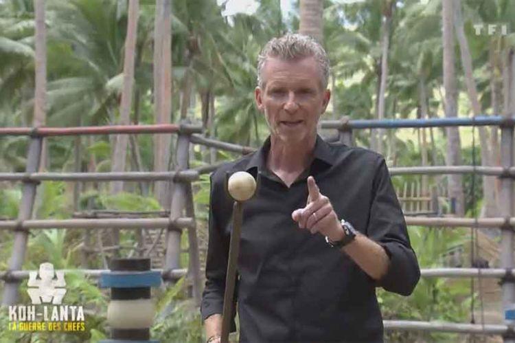 """""""Koh Lanta"""" : Denis Brogniart teste l'épreuve des Bagnards du 2ème épisode jeudi sur TF1 (vidéo)"""