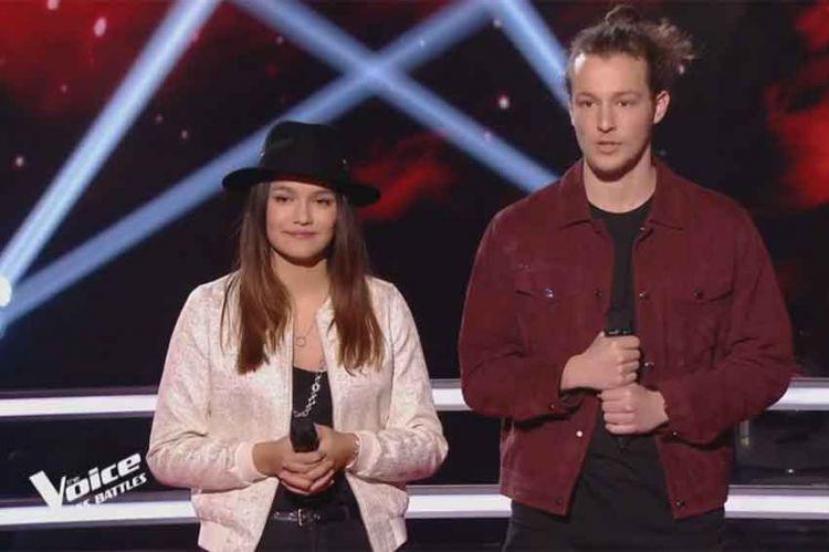 """Replay """"The Voice"""" : Anton & Laureen « Je m'en vais » de Vianney (vidéo)"""