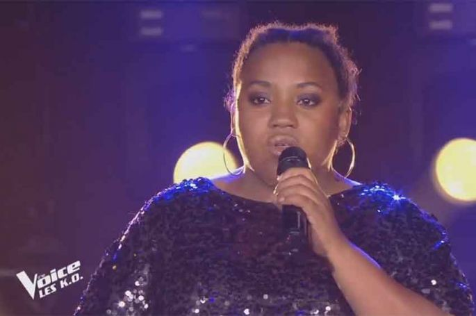 """Replay """"The Voice"""" : Virginie chante « Il me dit que je suis belle » de Patricia Kaas (vidéo)"""