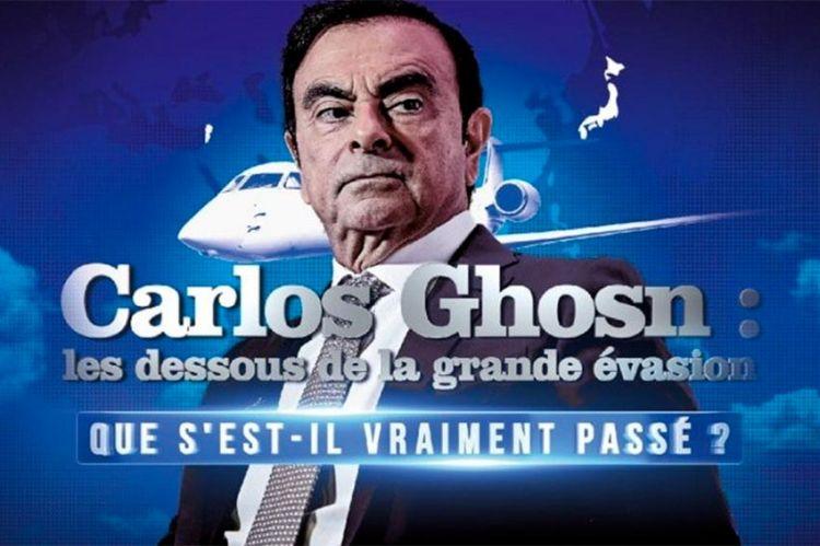 « Carlos Ghosn : les dessous de la grande évasion », mardi 4 février sur W9