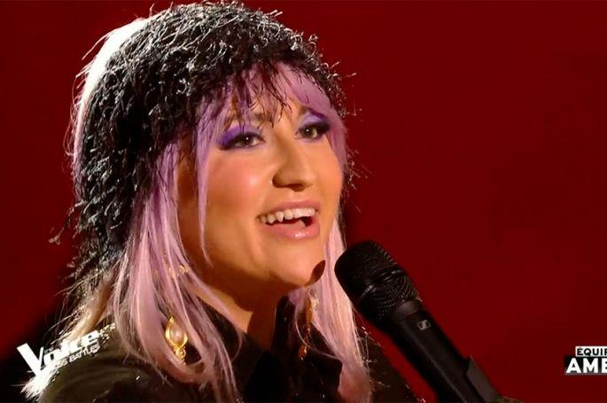 "Replay ""The Voice"" : Niki Black chante « Bad Romance » de Lady Gaga (vidéo)"
