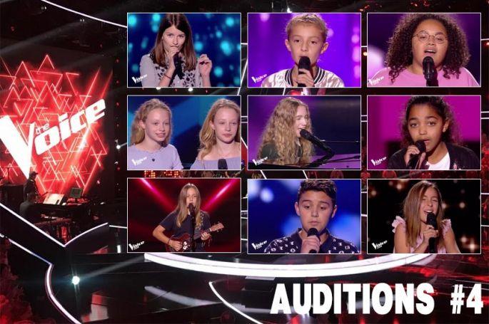 """Replay """"The Voice Kids"""" vendredi 2 novembre : voici les 9 talents sélectionnés (vidéo)"""