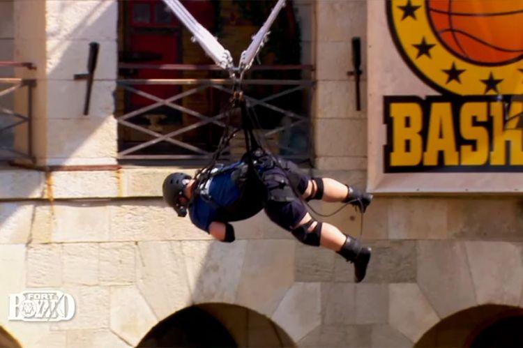 """""""Fort Boyard"""" : regardez Yoann Riou mort de peur dans le Turbo Basket, ce soir sur France 2 (vidéo)"""