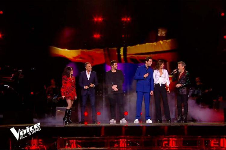 """""""The Voice"""" : les coachs chanteront « Place des grands hommes » samedi pour ouvrir la saison anniversaire sur TF1 (vidéo)"""
