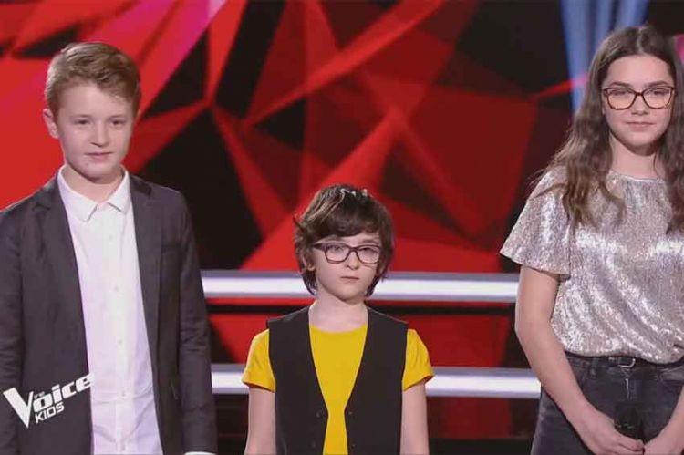 """Replay """"The Voice Kids"""" : Gaspard, Marie & Kylian « Fils à papa » de Vianney (vidéo)"""