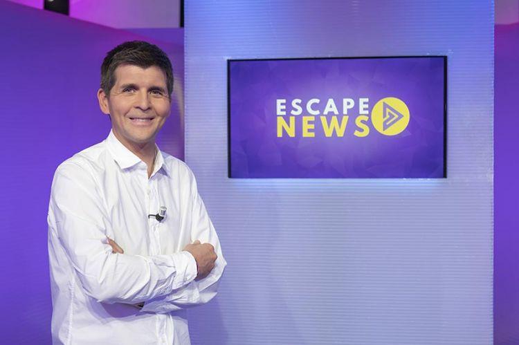 """Première de """"Escape News"""" avec Thomas Sotto ce samedi 10 novembre sur France 4"""
