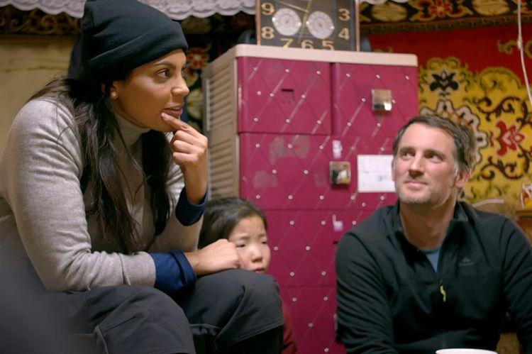 """1ères images de """"Rendez-vous en terre inconnue"""" avec Nawell Madani en Mongolie, mardi sur France 2 (vidéo)"""
