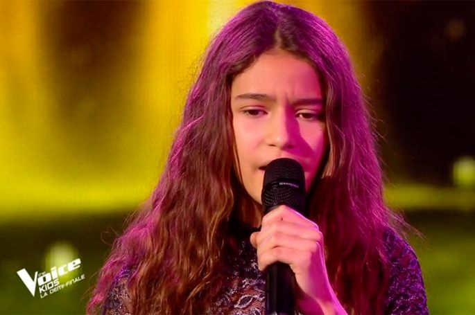 "Replay ""The Voice Kids"" : Naomi chante « I will never love again » de Lady Gaga (vidéo)"