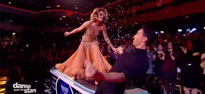 """Danse avec les stars"" : Caroline Receveur danse sur « The One That I Want » de Grease"