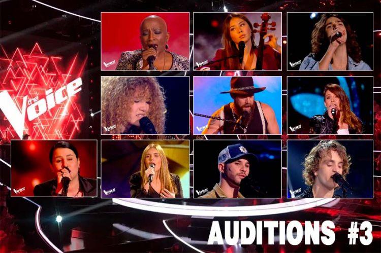 """Replay """"The Voice"""" samedi 25 septembre : voici les derniers 10 talents sélectionnés (vidéo)"""