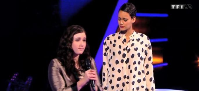 "Replay ""The Voice"" : la battle Caroline / Melissa sur « Wasting my Young Years » de London Grammar (vidéo)"