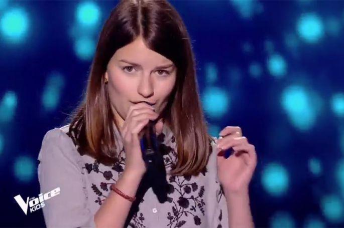 "Replay ""The Voice Kids"" : Alexandra chante « Runnin' » (Lose it all) » de Beyoncé (vidéo)"