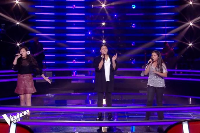 "Replay ""The Voice Kids"" : Emma, Ema & Elaia chantent « Somebody That I Used To Know » de Gotye (vidéo)"