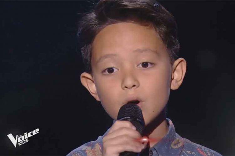 """Replay """"The Voice Kids"""" : Nathiei chante « L'amour existe encore » de Céline Dion (vidéo)"""