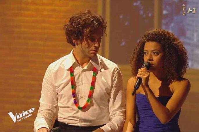 "Replay ""The Voice"" : Whitney & Mika chantent « Skinny Love » de Birdy en finale (vidéo)"