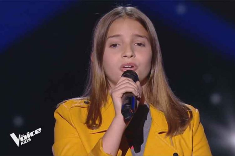 "Replay ""The Voice Kids"" : Valéria chante « All I ask » d'Adele (vidéo)"