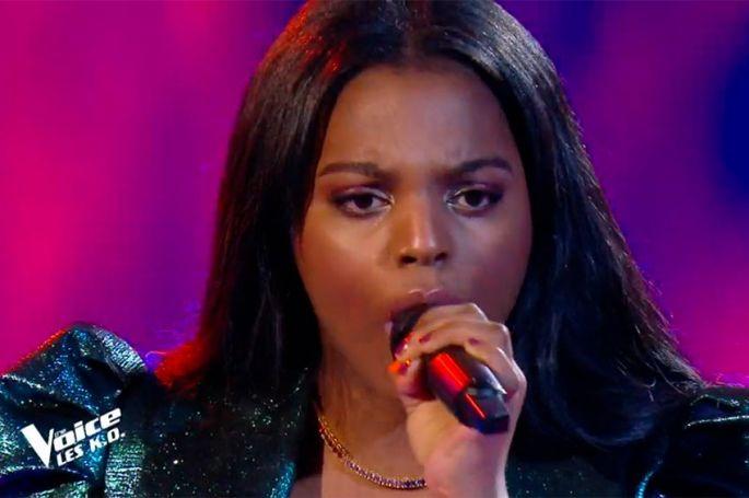 """Replay """"The Voice"""" : Mentissa chante « Un point c'est toi » de Zazie (vidéo)"""