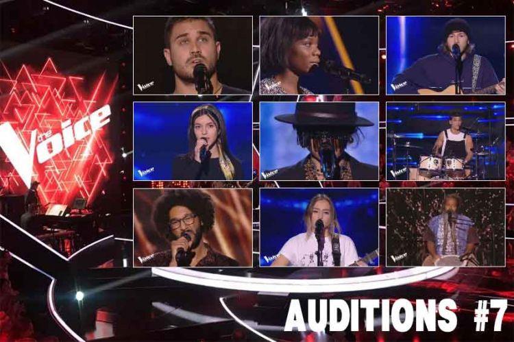 """Replay """"The Voice"""" samedi 23 mars : voici les 9 talents sélectionnés cette semaine (vidéo)"""